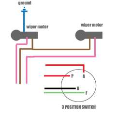 Rear Wiper Motor Wiring Diagram Motion Sensor Uk 1968 Camaro 67 Schematic Diagram1969 Image Details 1967 Chevy