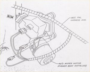 1967 NOVA WIPER MOTOR WIRING DIAGRAM  Auto Electrical