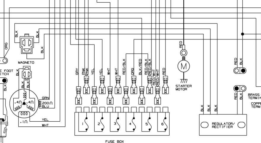 2002 arctic cat 500 wiring diagram