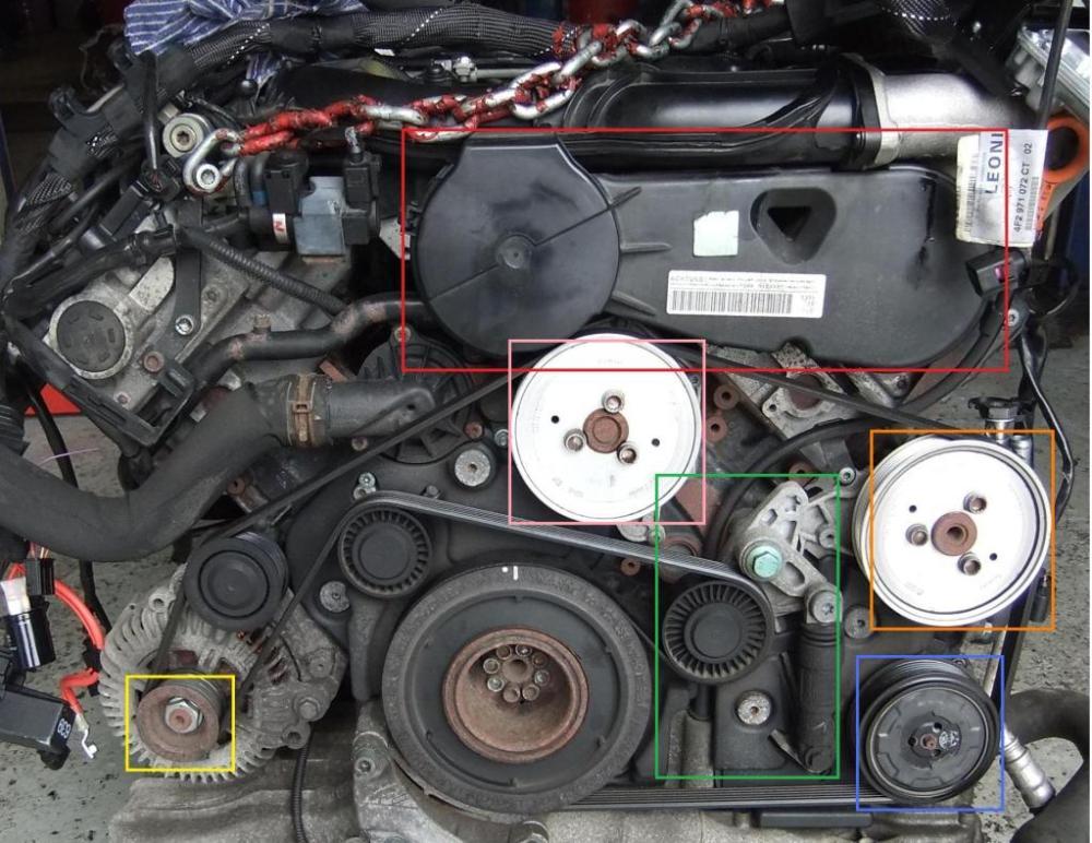 medium resolution of audi a6 3 0 power steering pump location
