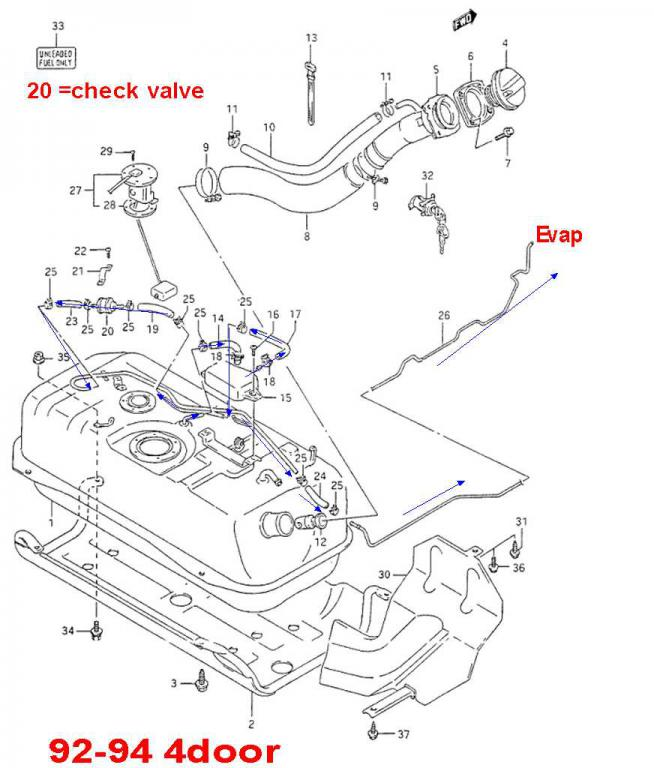 1999 Chevy Metro Engine Diagram Chevy Blazer Engine