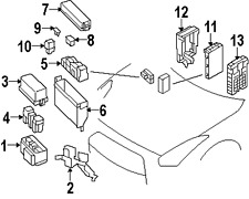 2010 Chevy Impala Fuse Box Diagram