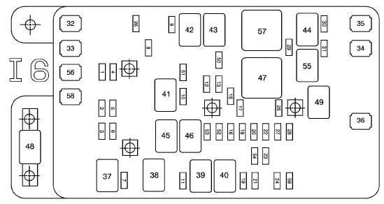 Chevy Trailblazer Fuse Box Diagram