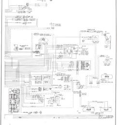 chevy truck instrument cluster wiring diagram [ 1492 x 1979 Pixel ]