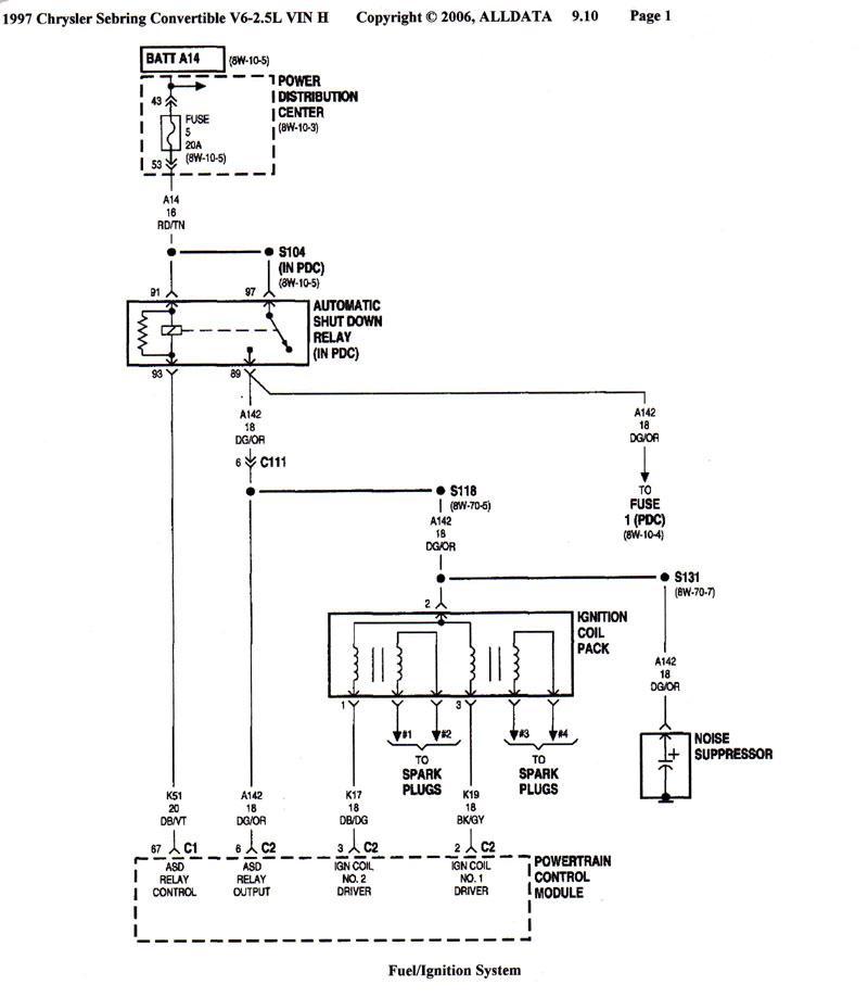 1999 chrysler sebring diagram - data wiring diagram update - 2003 chrysler  300m wiring diagram