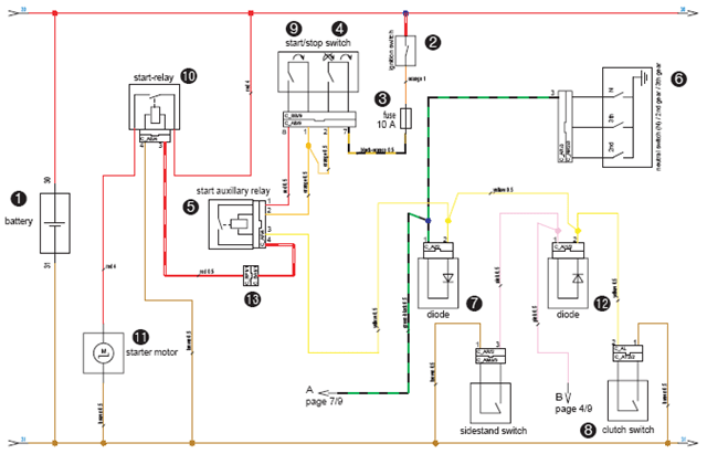 ba xr6 icc wiring diagram diagramm alpha1 20 40n 150 engine for hydraulic starting system image details