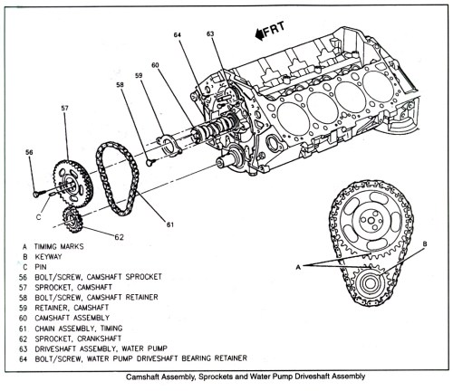 small resolution of ford engine timing chain diagram
