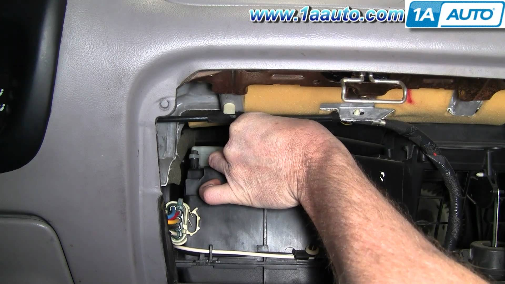 hight resolution of ford explorer blend door actuator