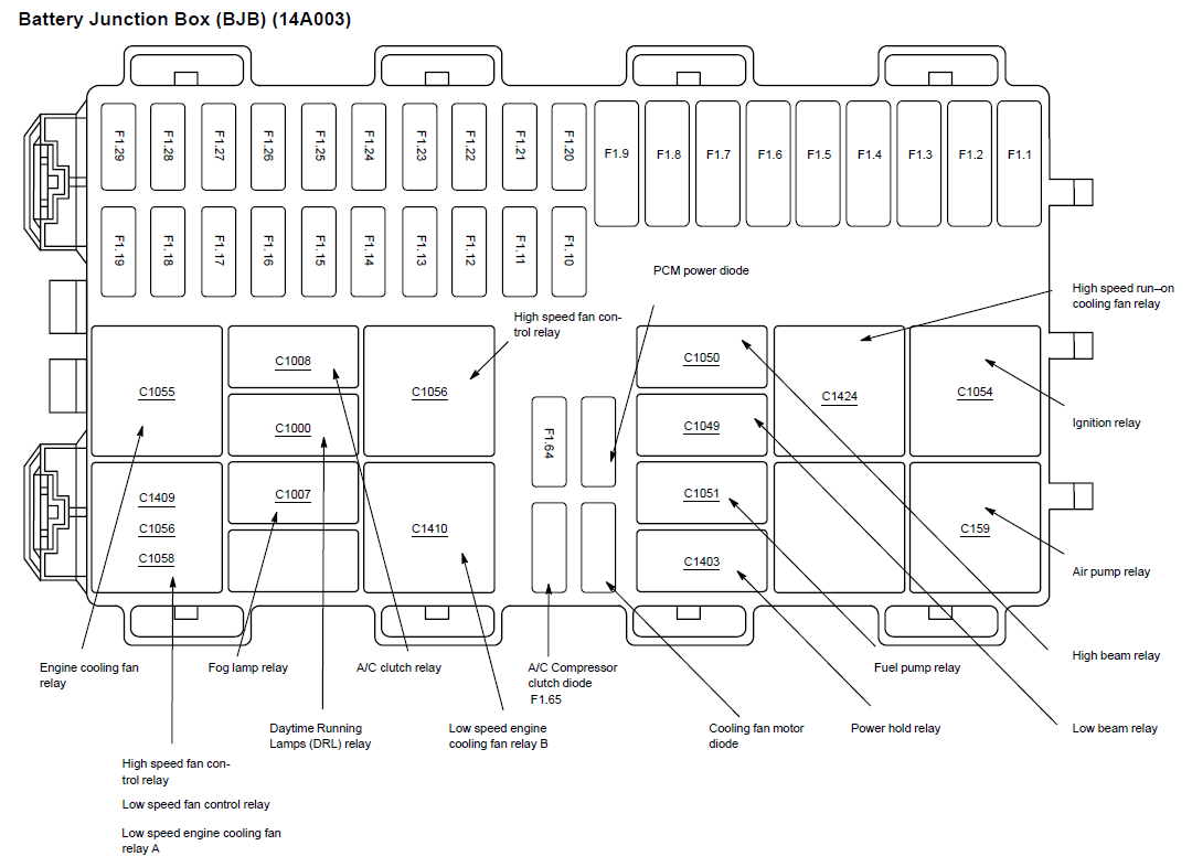 2008 Ford Fuse Diagram