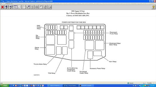 small resolution of 02 jaguar s type fuse box wiring libraryjaguar s type fuse box diagram