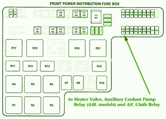 2001 jaguar s type relay diagram wiring schematic  auto