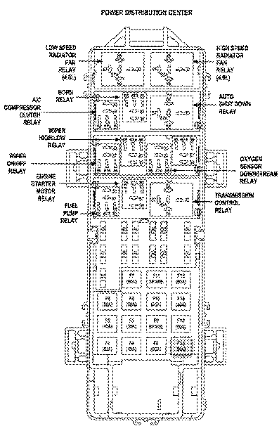2013 Jeep Grand Cherokee Fuse Box Diagram : 41 Wiring