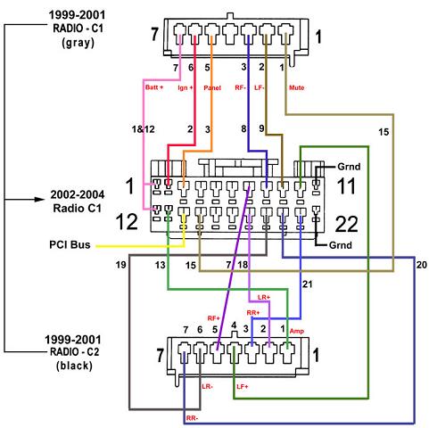 2004 Chevy Cavalier Radio Wiring – 2004 Chevy Impala Radio Wiring Diagram