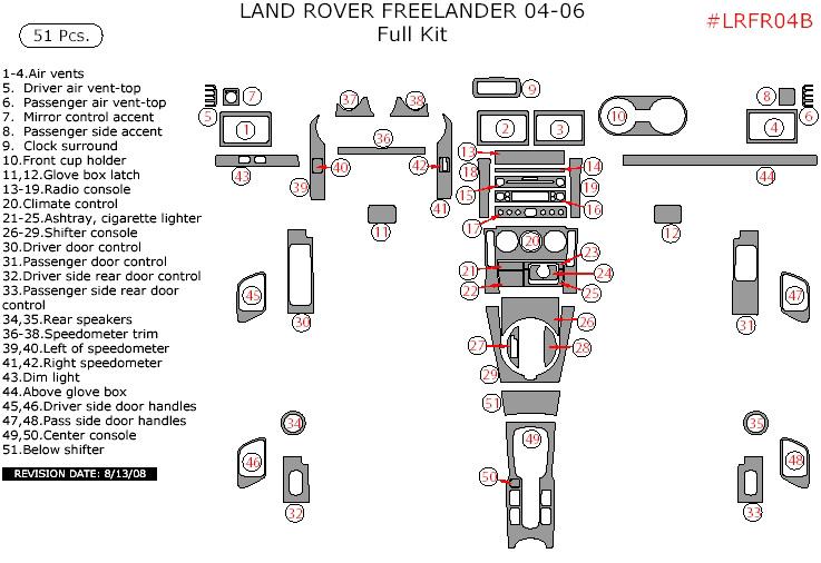 LAND ROVER TIMING BELT TENSIONER & IDLER PULLEY KIT SET