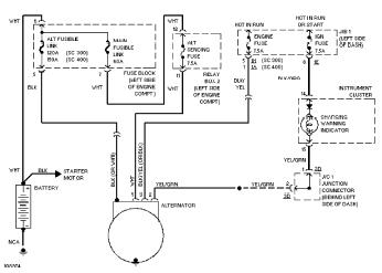 Isuzu NPR Alternator Wiring Diagram
