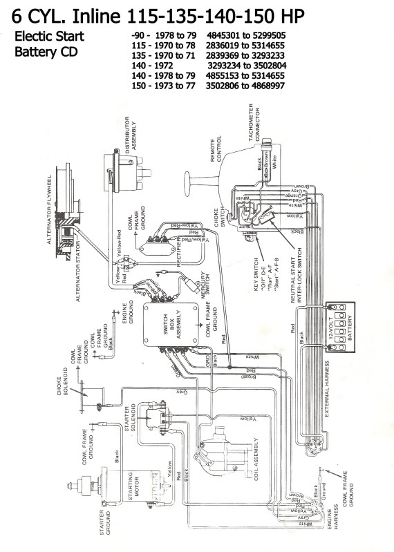 Mercury 850 Thunderbolt Wiring Harness : 38 Wiring Diagram