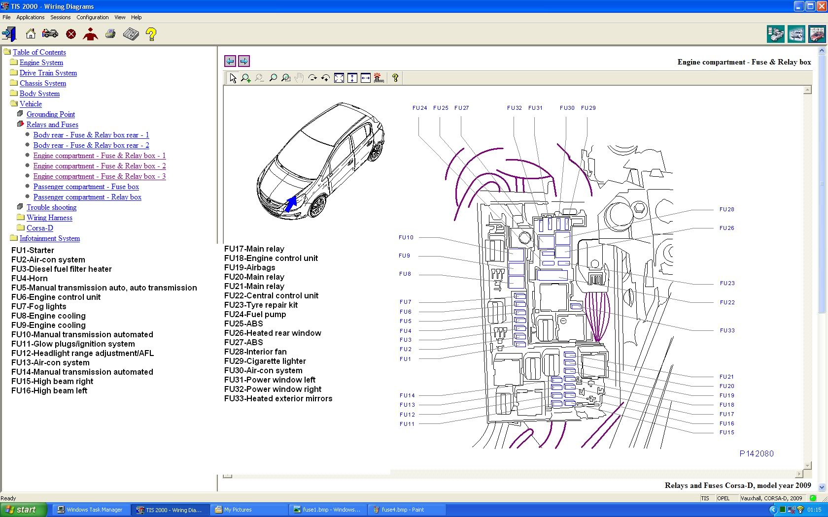 Corsa D Wiring Diagram | Wiring Library