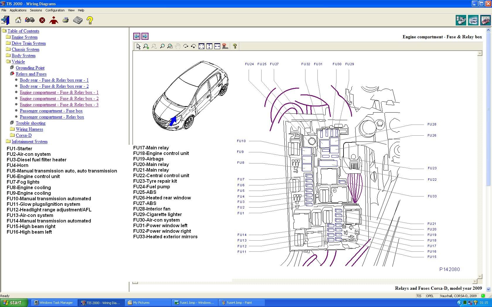 Opel Corsa Fuse Box Manual - Wiring Diagram Directory on