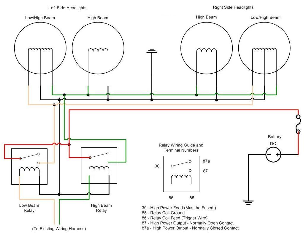 hight resolution of peterbilt headlight wiring diagram
