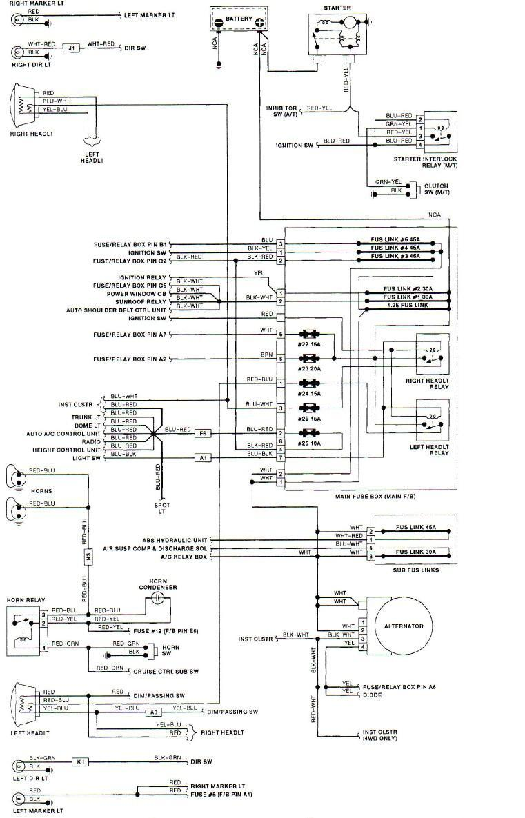 hight resolution of 1991 subaru legacy wiring diagram wiring diagram autovehicle1991 subaru wiring diagram 4 14 manualuniverse co