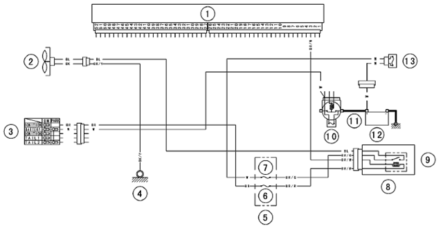 radiator fan relay wiring diagram 2017 toyota hilux towbar image details