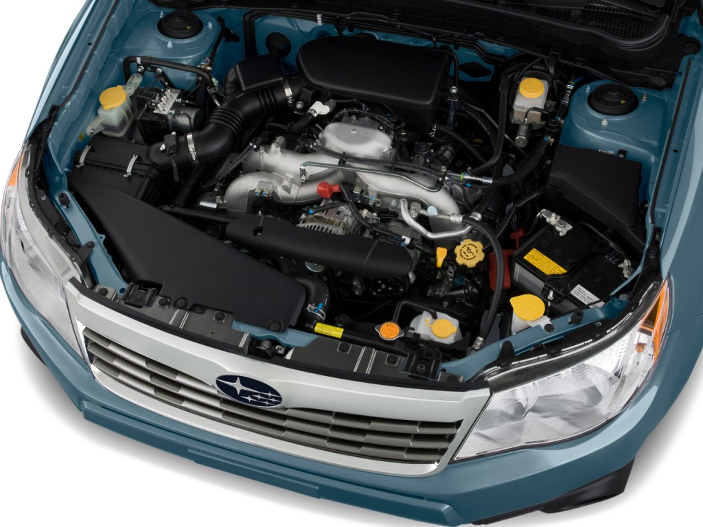 hight resolution of subaru forester boxer engine