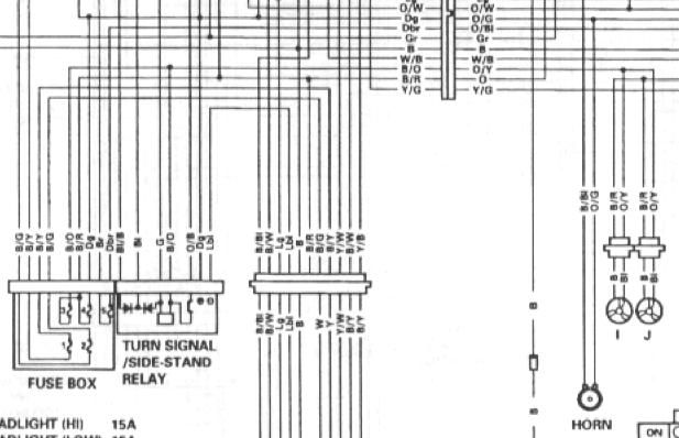 2000 gsxr 750 headlight wiring diagram