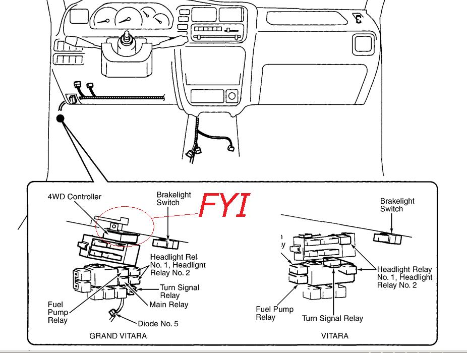 Suzuki Turn Signal Wiring Diagram