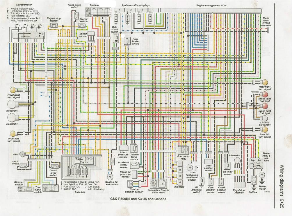 1988 Suzuki Gsx 600 Wiring Diagram - Data Library •