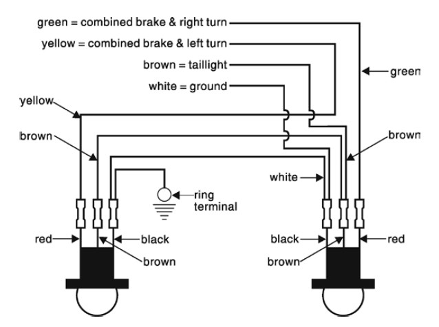 Jeep Tail Light Wiring Diagram Jeep Wiring Diagram And Schematics