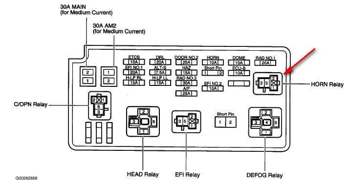 2005 Toyota Camry Wiring Diagram