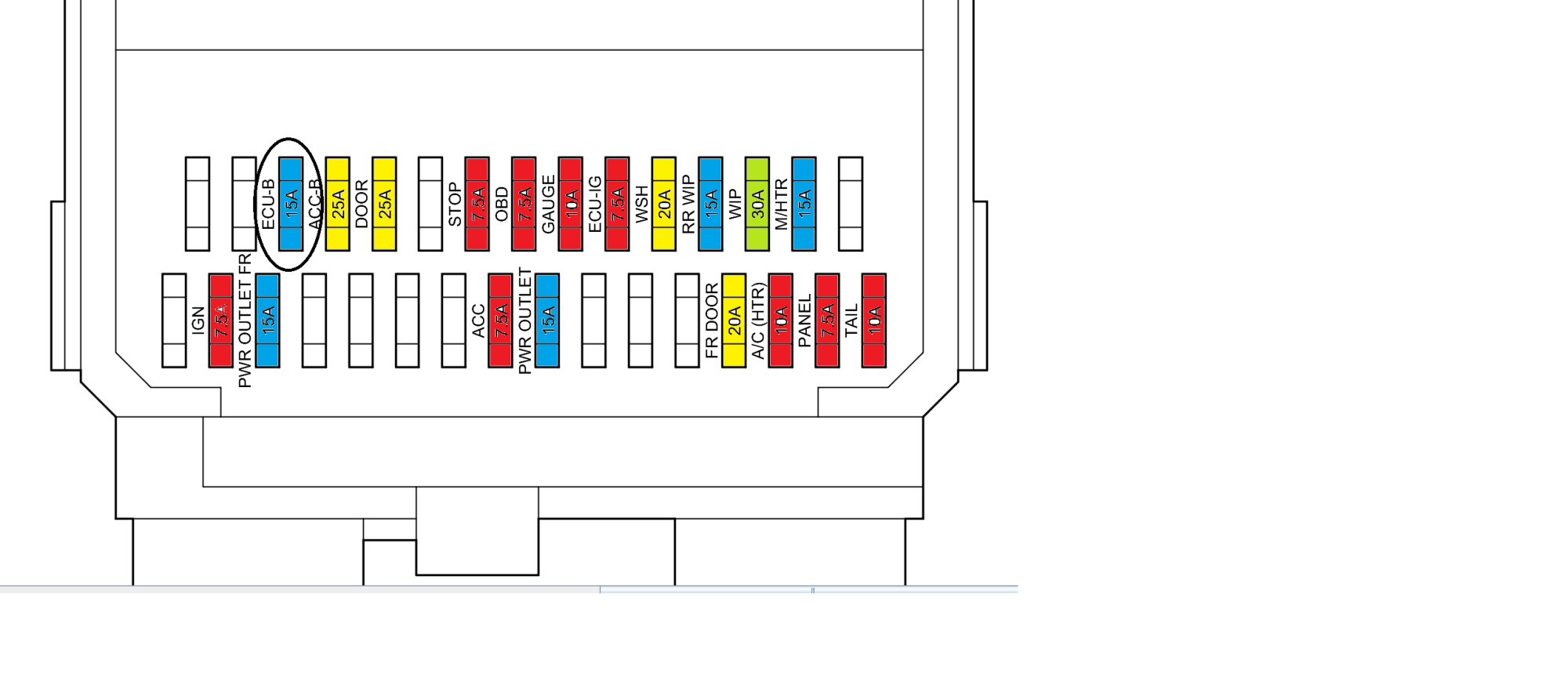 hight resolution of toyota prius fuse box location