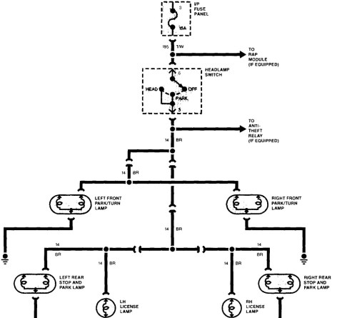 small resolution of toyota tacoma tail light wiring diagram