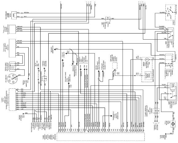 2005 Yamaha Wiring Schematic Diagram