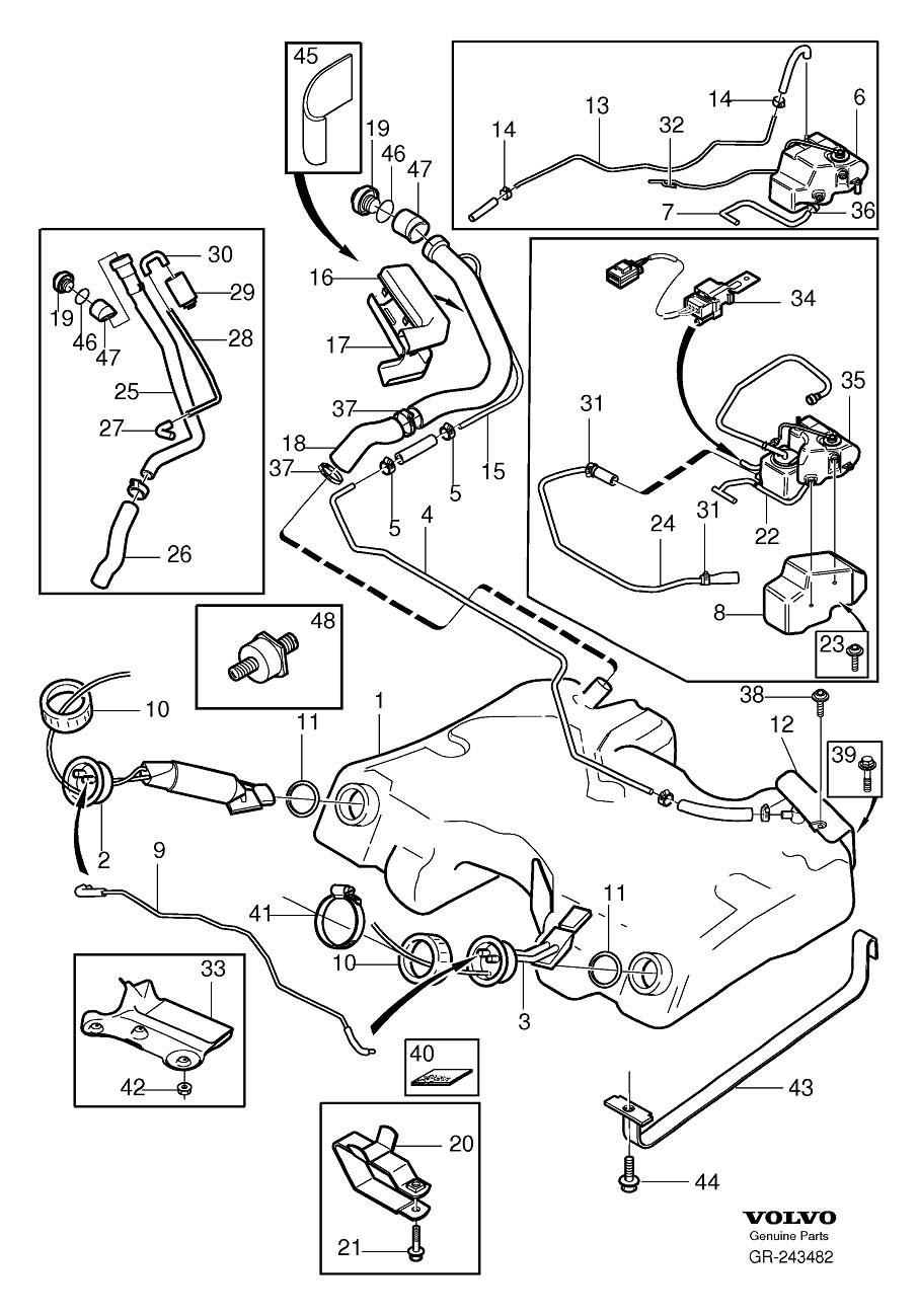 medium resolution of 2002 volvo v70 fuel system diagram enthusiast wiring diagrams u2022 volvo s40 parts diagram 2004