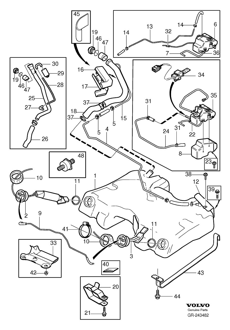 medium resolution of volvo fuel pump wiring diagram