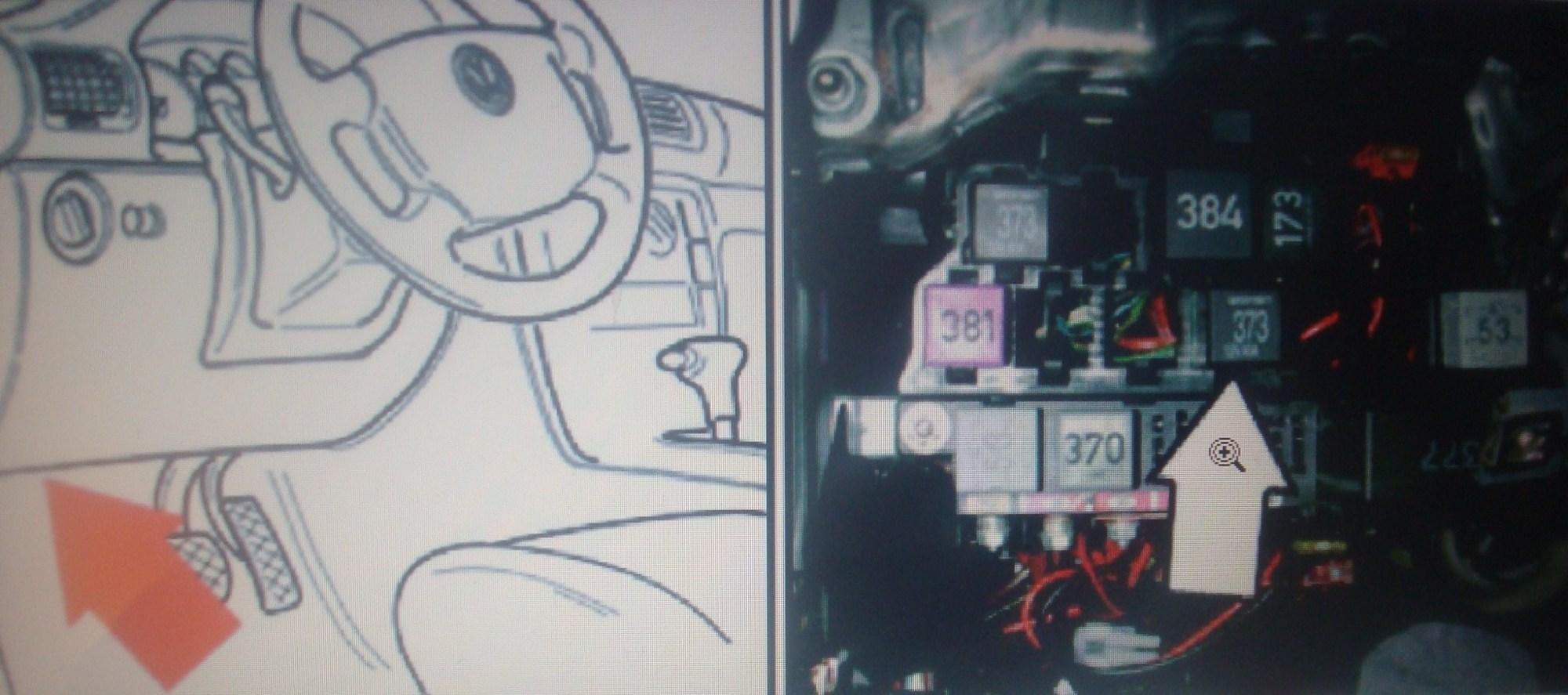 hight resolution of vw passat fuel pump relay location