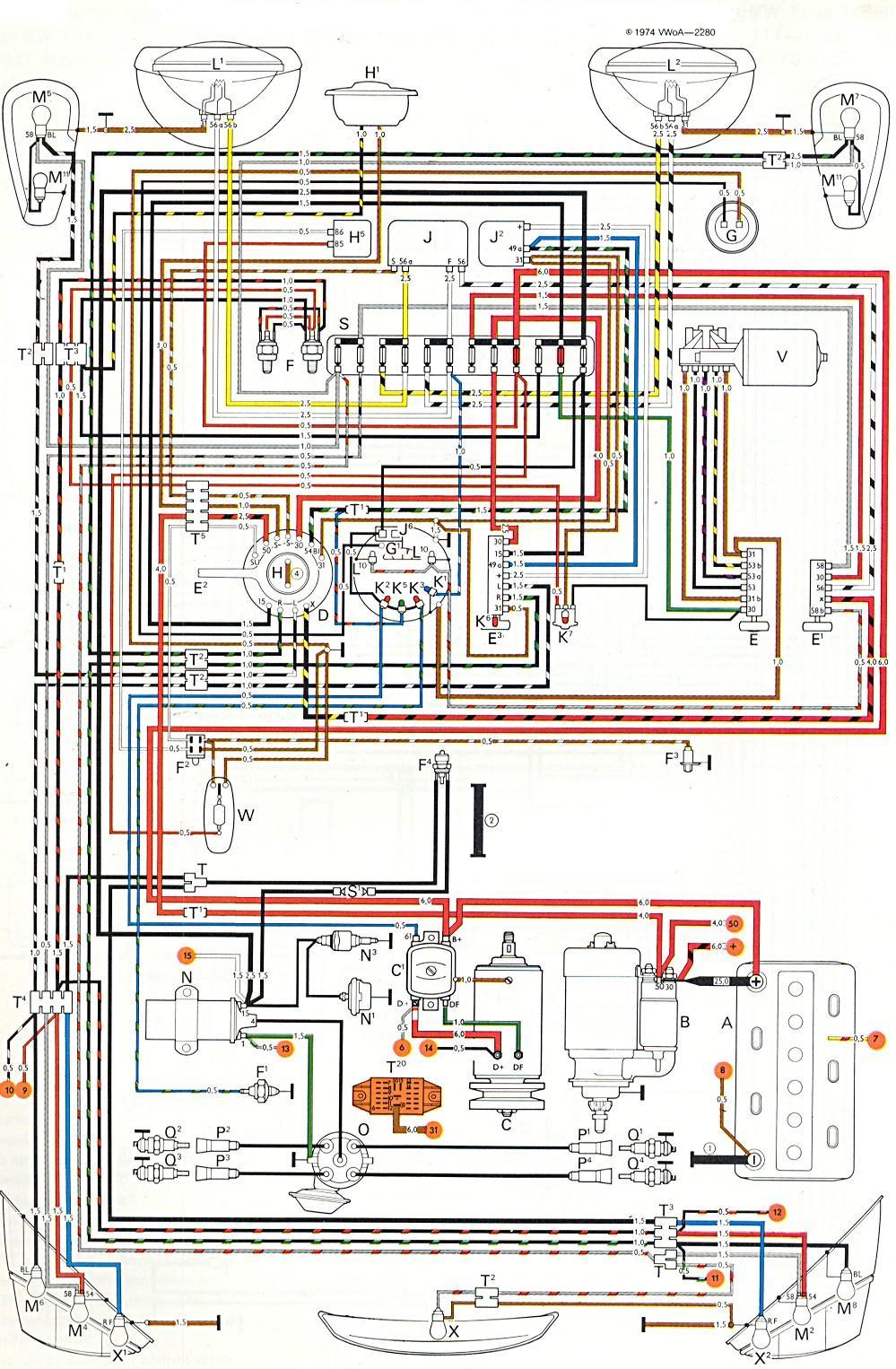 1972 vw beetle wire schematic 1972 vw bug wiring wiring diagrams show  1972 vw bug wiring wiring diagrams show