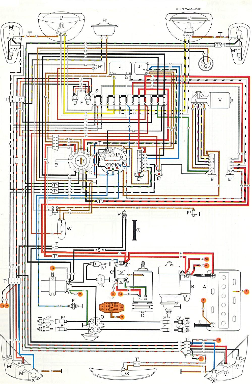 hight resolution of 1973 vw bus wiring harness wiring diagrams tar 58 vw bus wiring harness