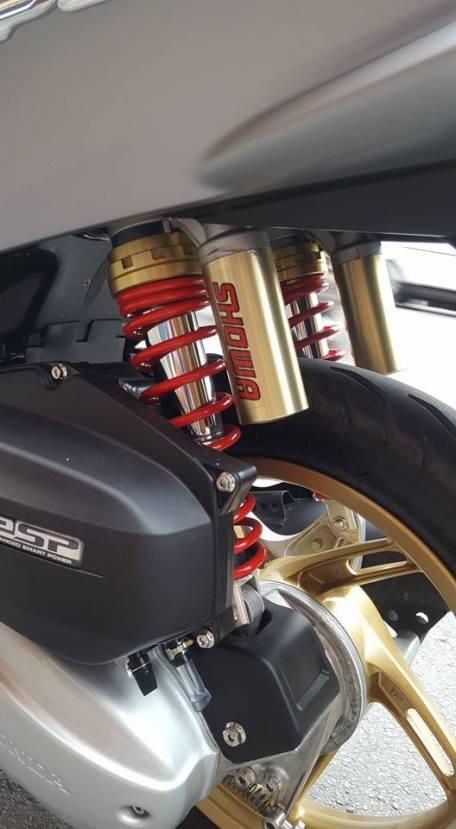 modifikasi Honda PCX 5
