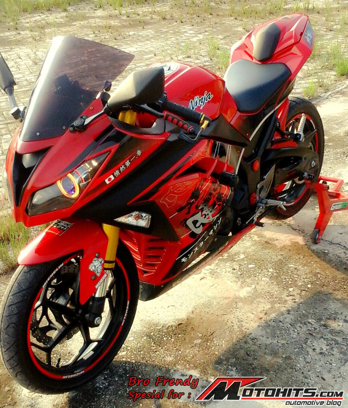Gambar Motor Ninja 250  impremedianet