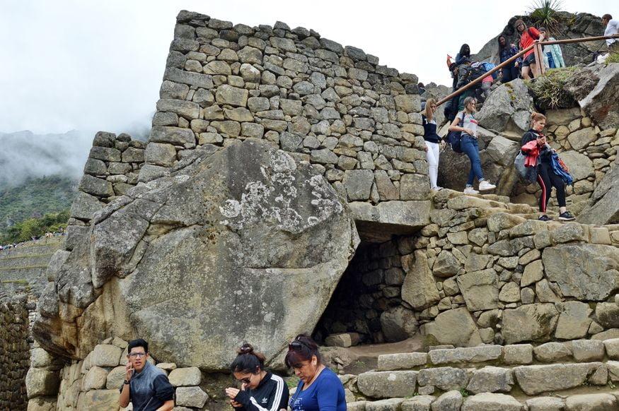 Каменные строения мачу пикчу перу