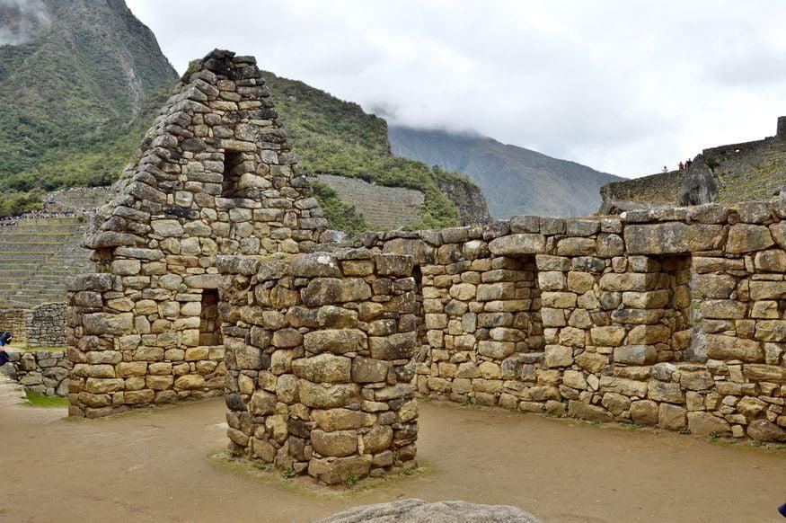 Руины хозяйственного здания Мачу пикча