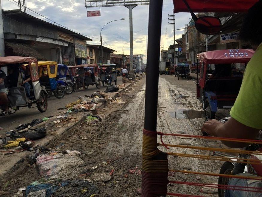 Улицы рынка Белен Икитос
