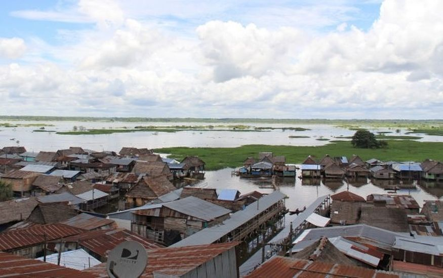 Плавучие трущобы Белен ИКитос Перу