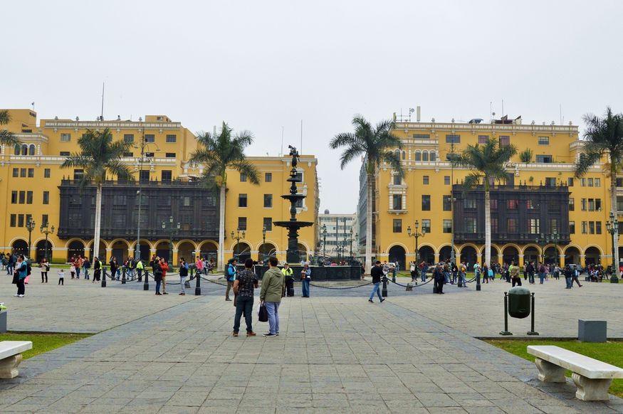 Центр города Лима Перу