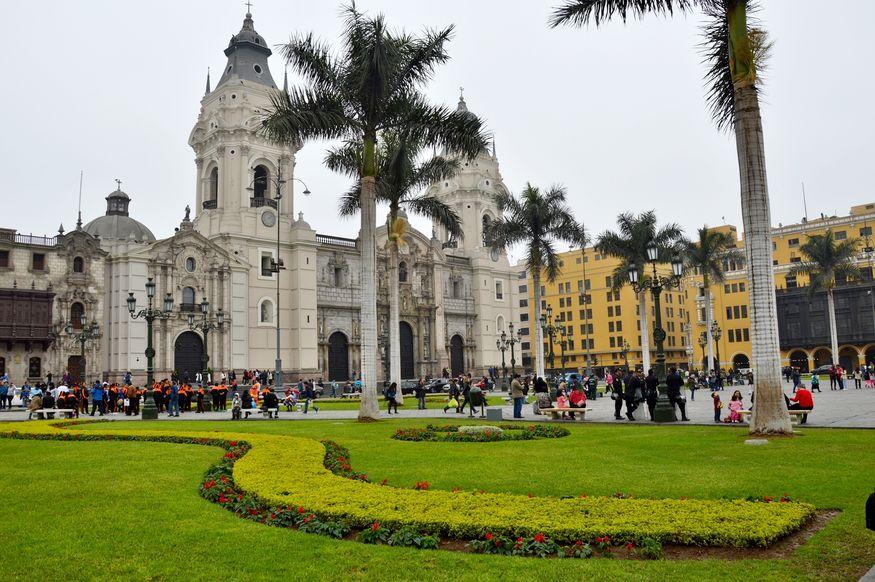 Кафедральный собор Лимы Перу