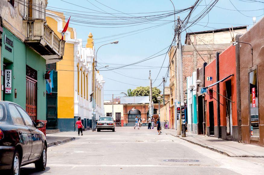 Цветные улицы Ика в Перу