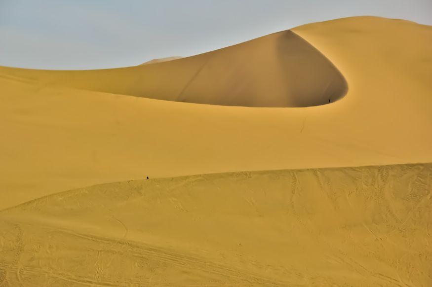 Линии в пустыне Перу