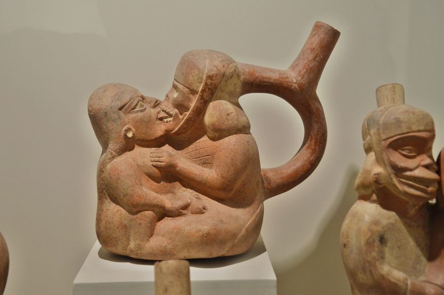 Эротическая керамика мочика лима перу